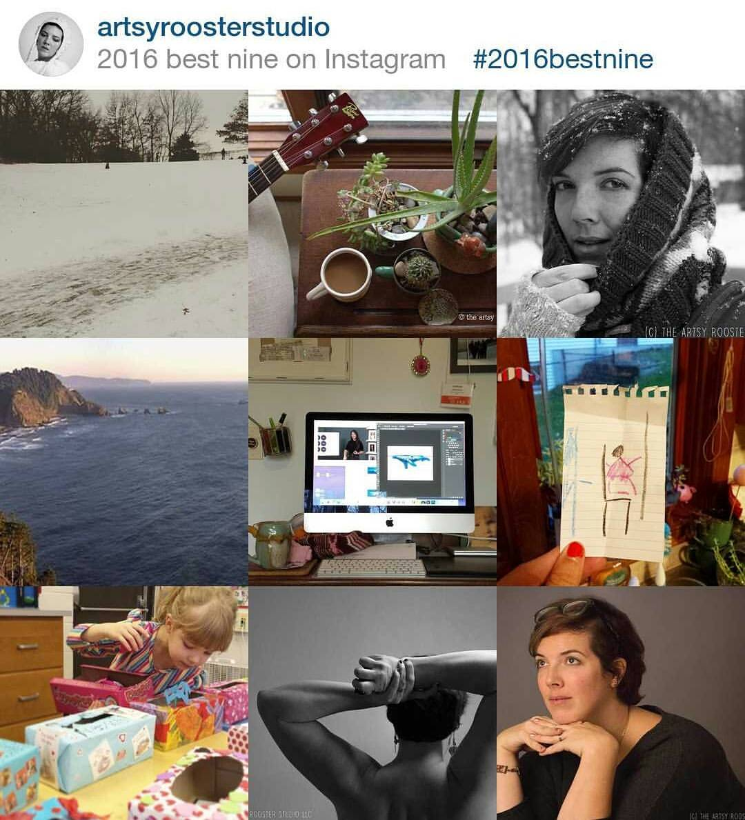 Day 63 Artsy Rooster Studio 2016 best nine